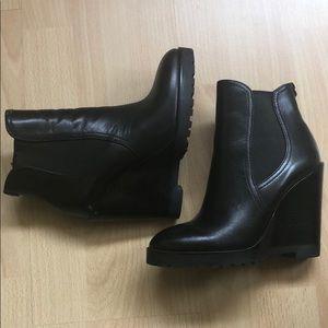 Michael Kors Shoes - 🖤Michael Kors Wedge Booties